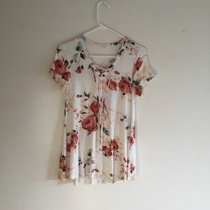 NWOT 12PM By Mon Ami Floral Top